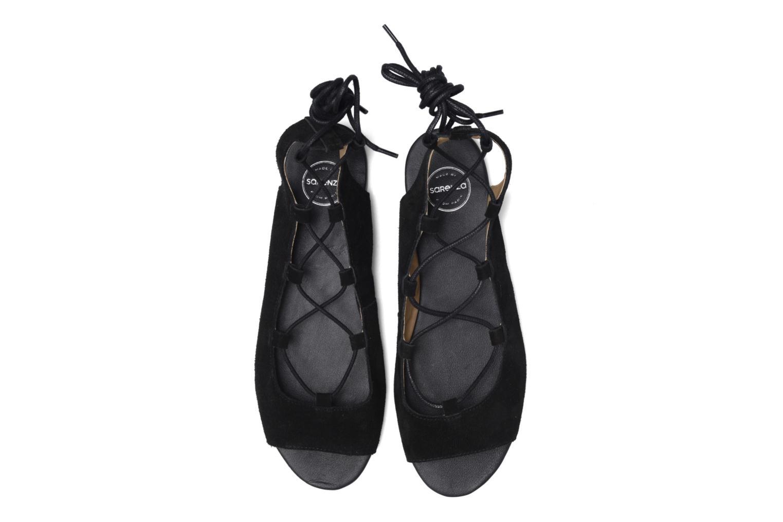 Sandalen Made by SARENZA Tennesse Sister #6 Zwart model
