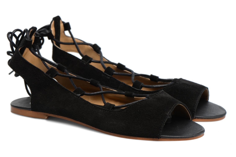Sandalen Made by SARENZA Tennesse Sister #6 Zwart achterkant
