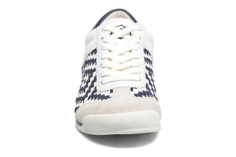 Baskets Ash Scorpio Bleu vue portées chaussures