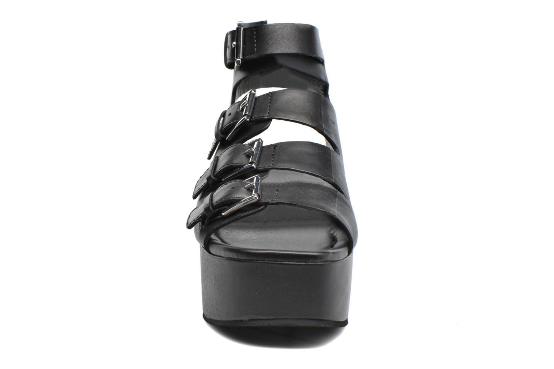 Devil Platform Sandal Brasil Black