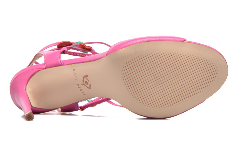 Sandales et nu-pieds Katy Perry The Carmen Rose vue haut