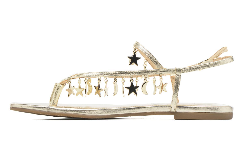 Sandales et nu-pieds Katy Perry The Celeste Or et bronze vue face