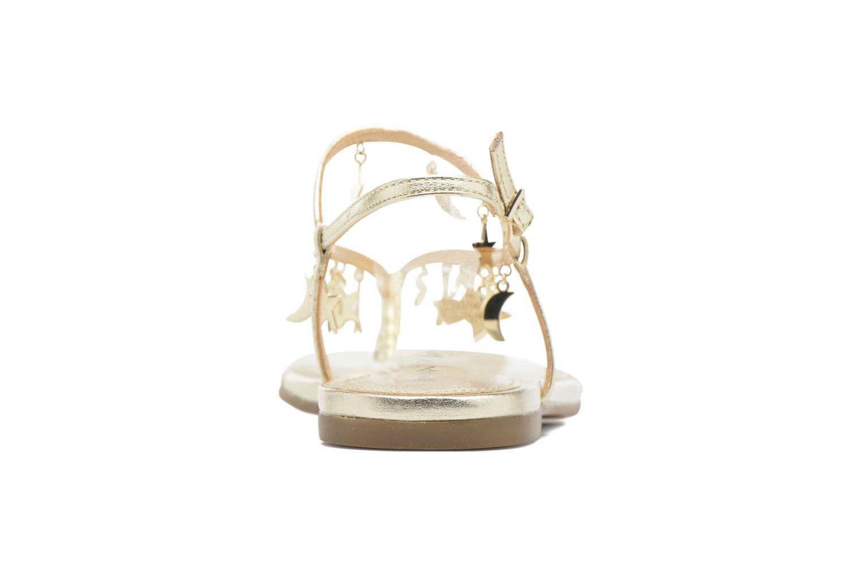 Sandales et nu-pieds Katy Perry The Celeste Or et bronze vue droite
