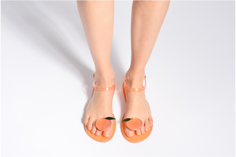 Sandales et nu-pieds Katy Perry The Geli Orange vue bas / vue portée sac