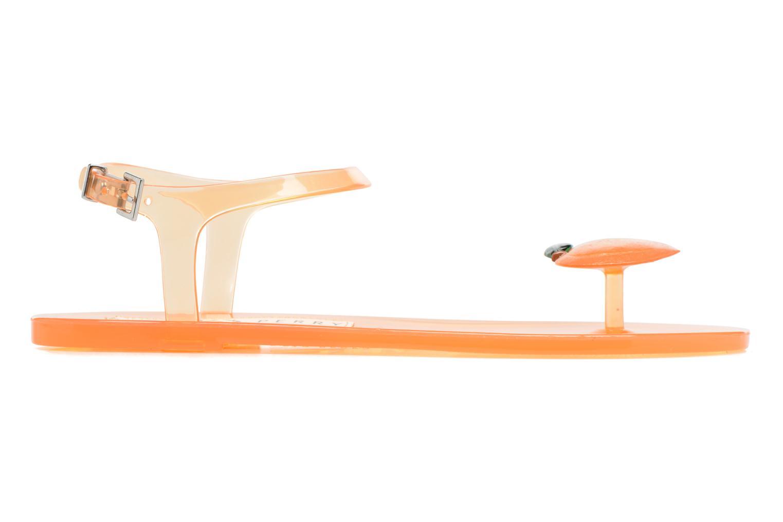 Sandales et nu-pieds Katy Perry The Geli Orange vue derrière