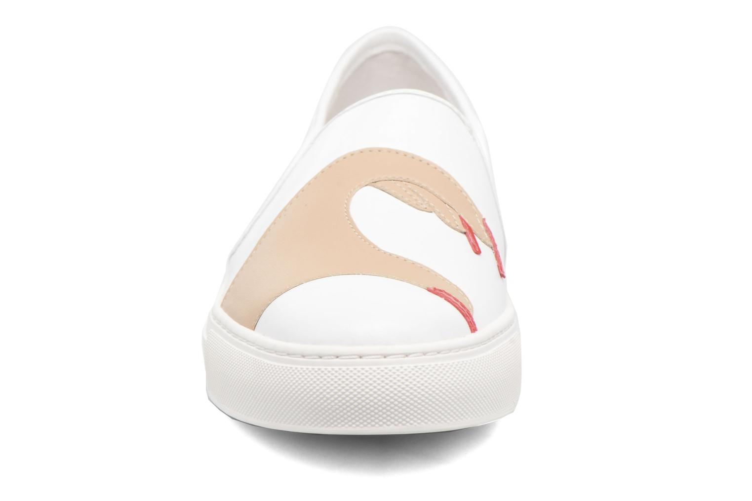 Baskets Katy Perry The Heart Blanc vue portées chaussures