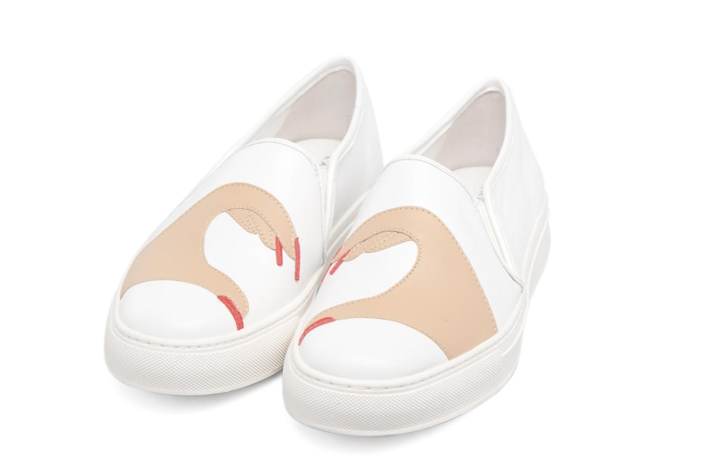 Baskets Katy Perry The Heart Blanc vue détail/paire