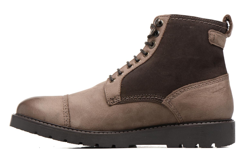 Bottines et boots Kickers Conysse Marron vue face
