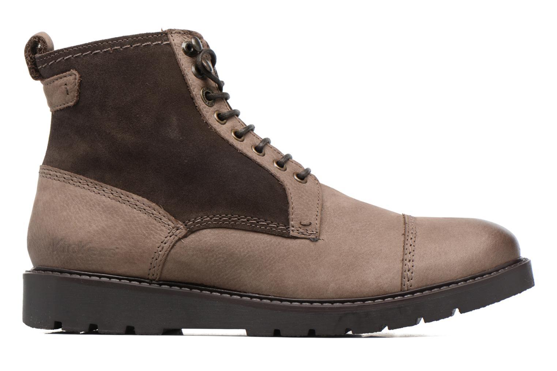 Bottines et boots Kickers Conysse Marron vue derrière