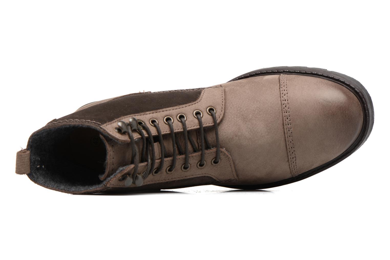 Bottines et boots Kickers Conysse Marron vue gauche