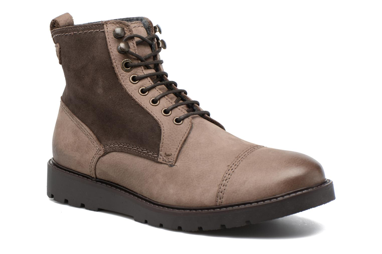 Bottines et boots Kickers Conysse Marron vue détail/paire