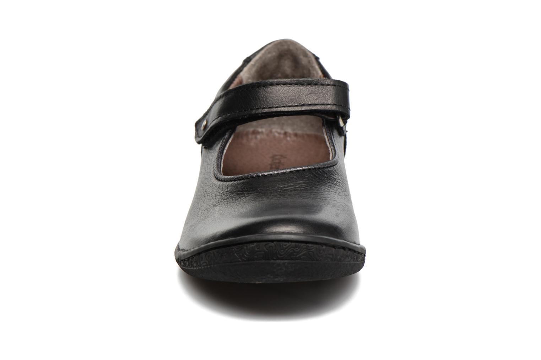 Ballerines Kickers Calluna Noir vue portées chaussures