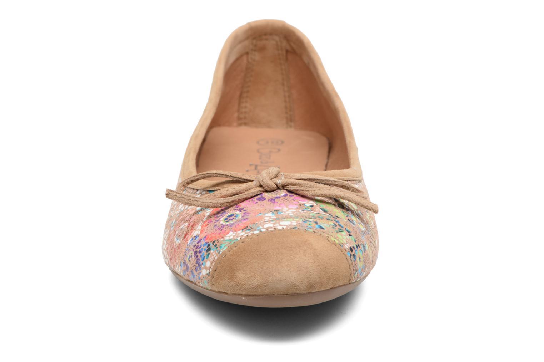 Ballerines Coco et abricot Belline 2 Multicolore vue portées chaussures