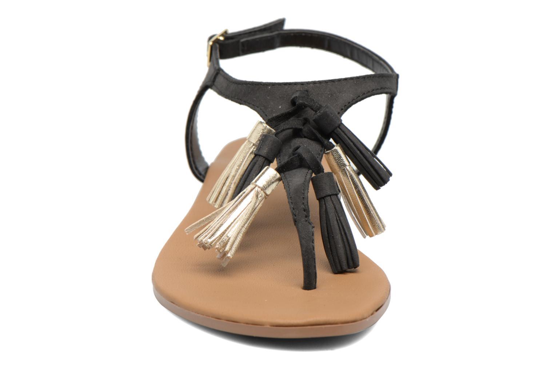 Sandales et nu-pieds Georgia Rose Molon Noir vue portées chaussures