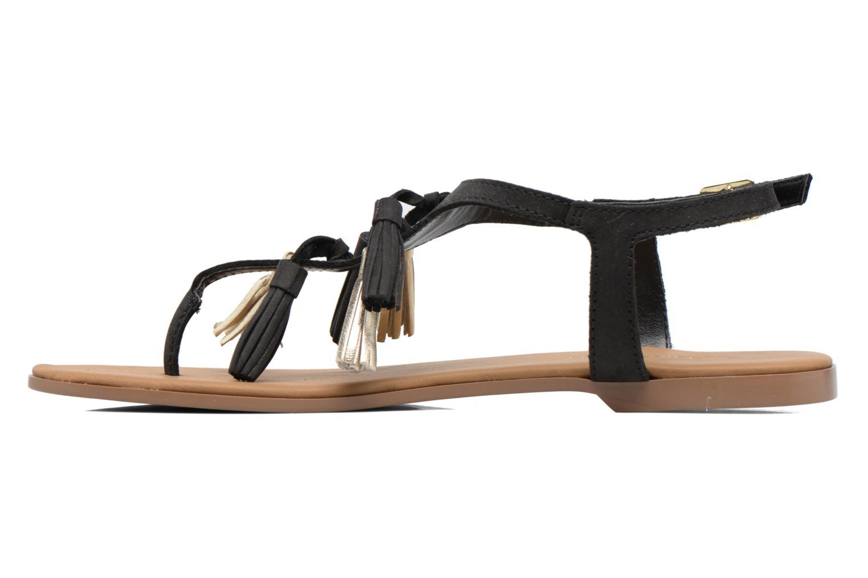 Sandales et nu-pieds Georgia Rose Molon Noir vue face