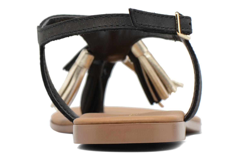 Sandales et nu-pieds Georgia Rose Molon Noir vue droite