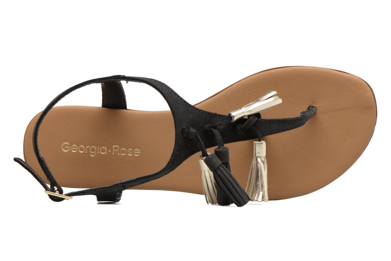 Sandales et nu-pieds Georgia Rose Molon Noir vue gauche