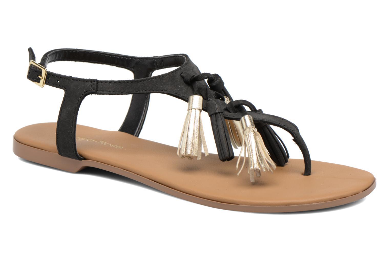 Sandales et nu-pieds Georgia Rose Molon Noir vue détail/paire