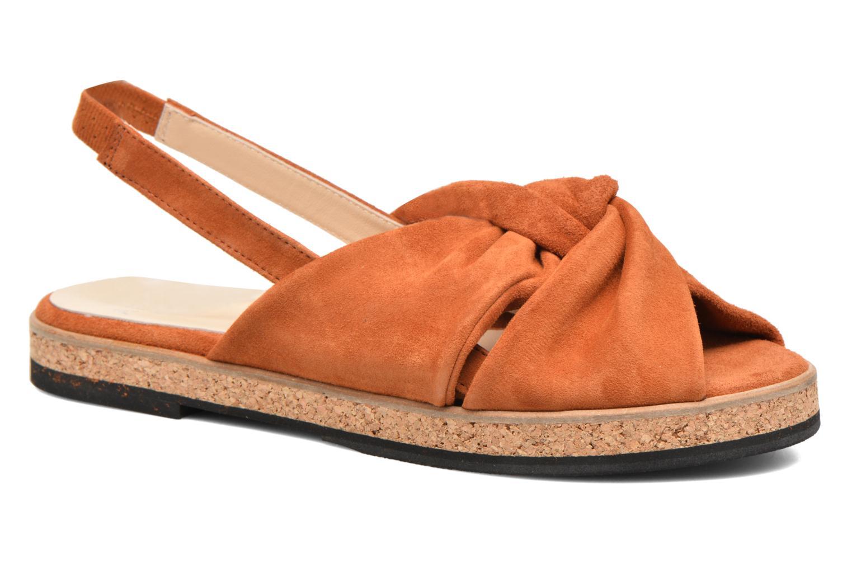 Anaki Mismi (Marron) - Sandales et nu-pieds chez Sarenza (293150)