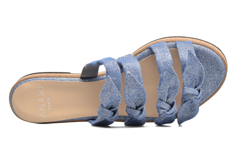 Sandali e scarpe aperte Anaki Cali Azzurro immagine sinistra