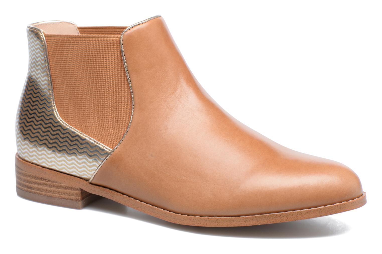 Bottines et boots Mellow Yellow Balola Marron vue détail/paire