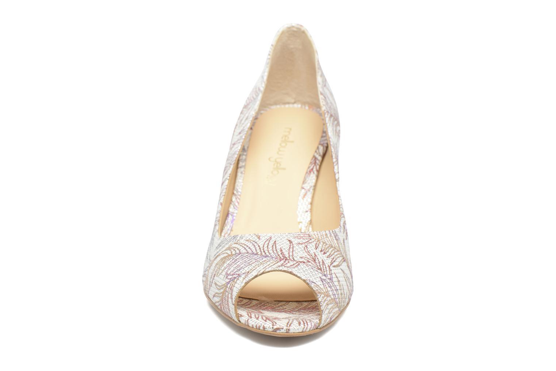 Zapatos de tacón Mellow Yellow Betty Blanco vista del modelo