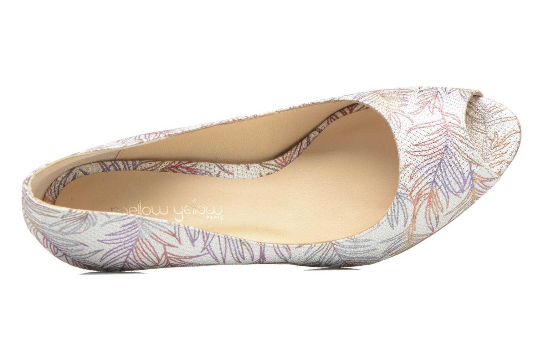 Zapatos de tacón Mellow Yellow Betty Blanco vista lateral izquierda