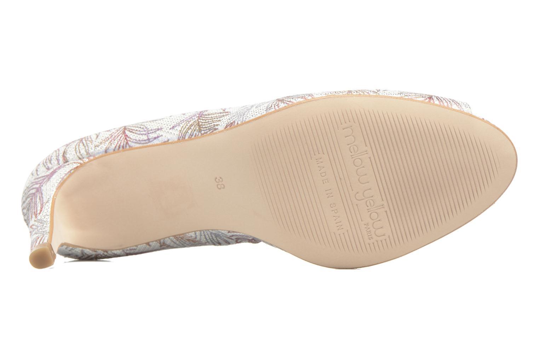 Zapatos de tacón Mellow Yellow Betty Blanco vista de arriba