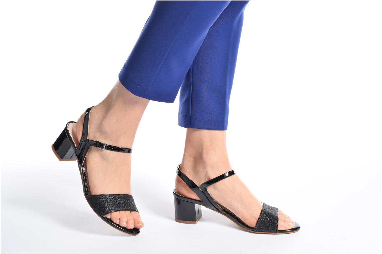 Sandales et nu-pieds Mellow Yellow Badami Noir vue bas / vue portée sac