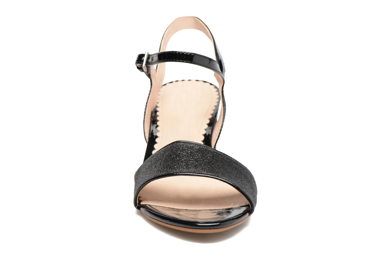 Sandals Mellow Yellow Badami Black model view