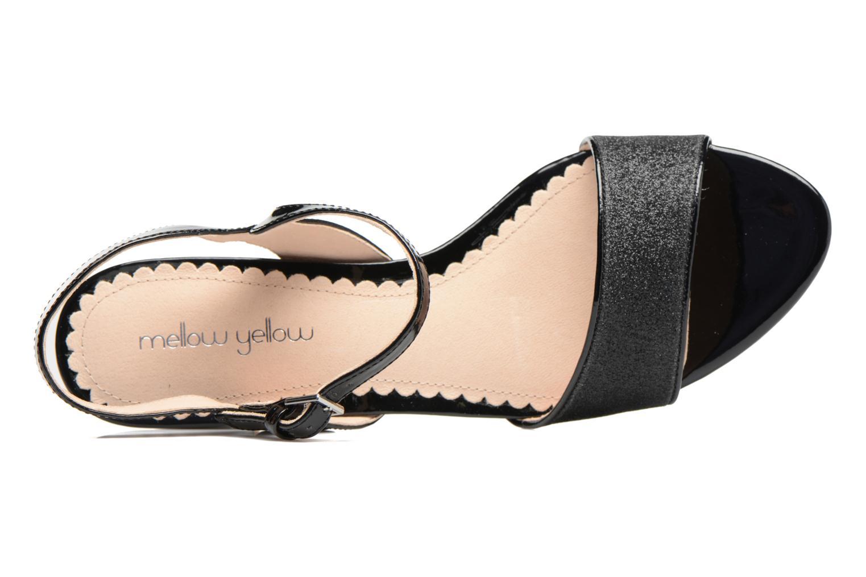 Sandales et nu-pieds Mellow Yellow Badami Noir vue gauche
