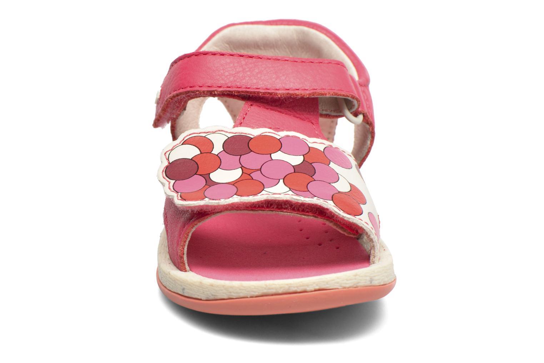 Sandali e scarpe aperte Camper Tws B Rosa modello indossato
