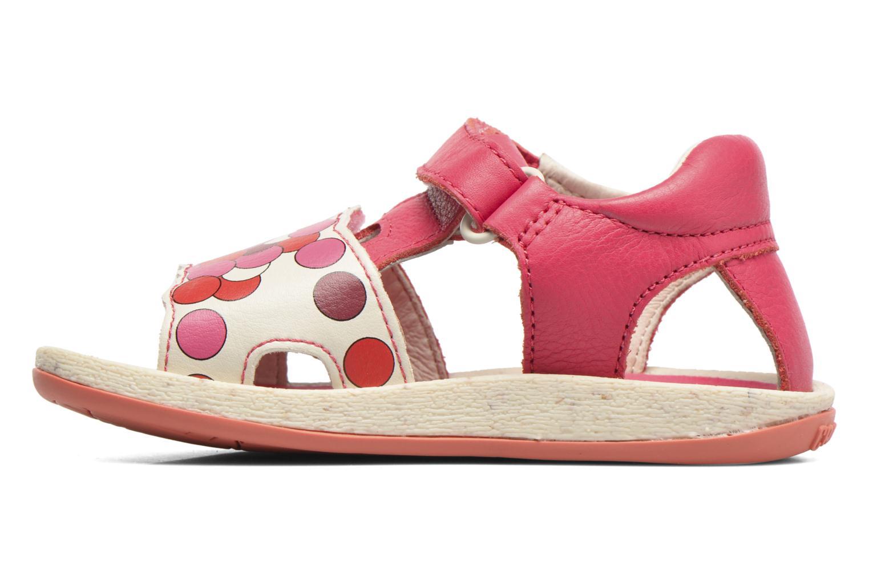 Sandali e scarpe aperte Camper Tws B Rosa immagine frontale
