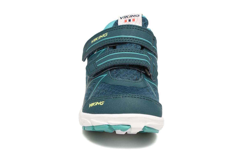 Chaussures de sport Viking Trym GTX Vert vue portées chaussures