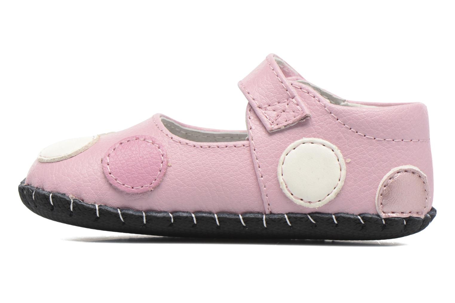 Chaussons Pediped Giselle Rose vue face