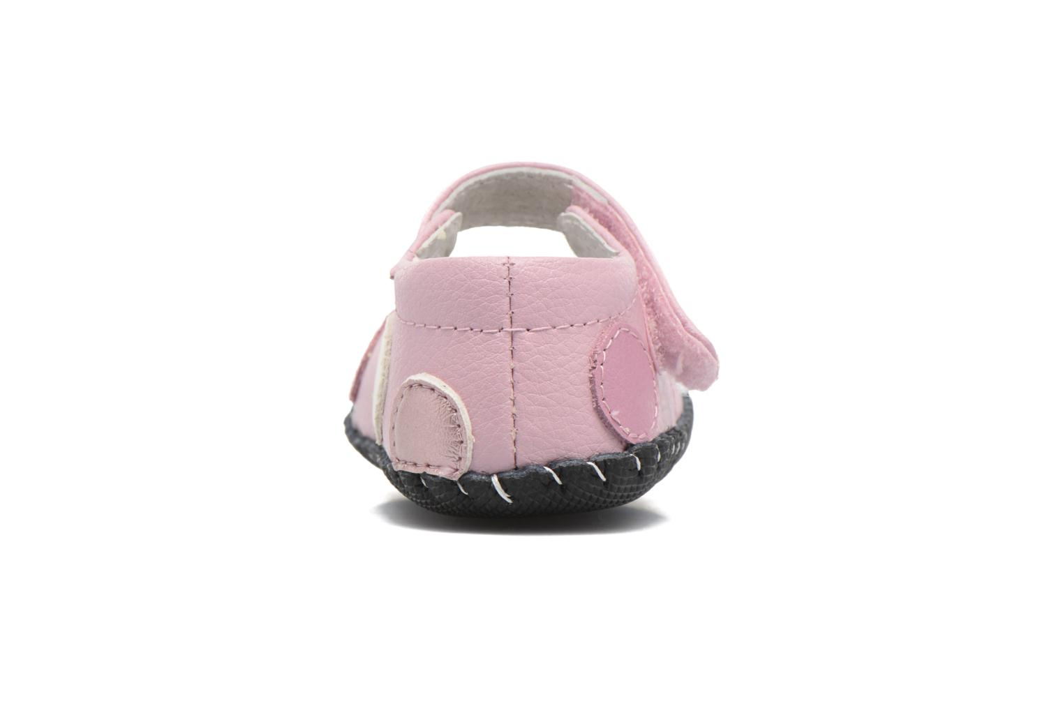 Chaussons Pediped Giselle Rose vue droite