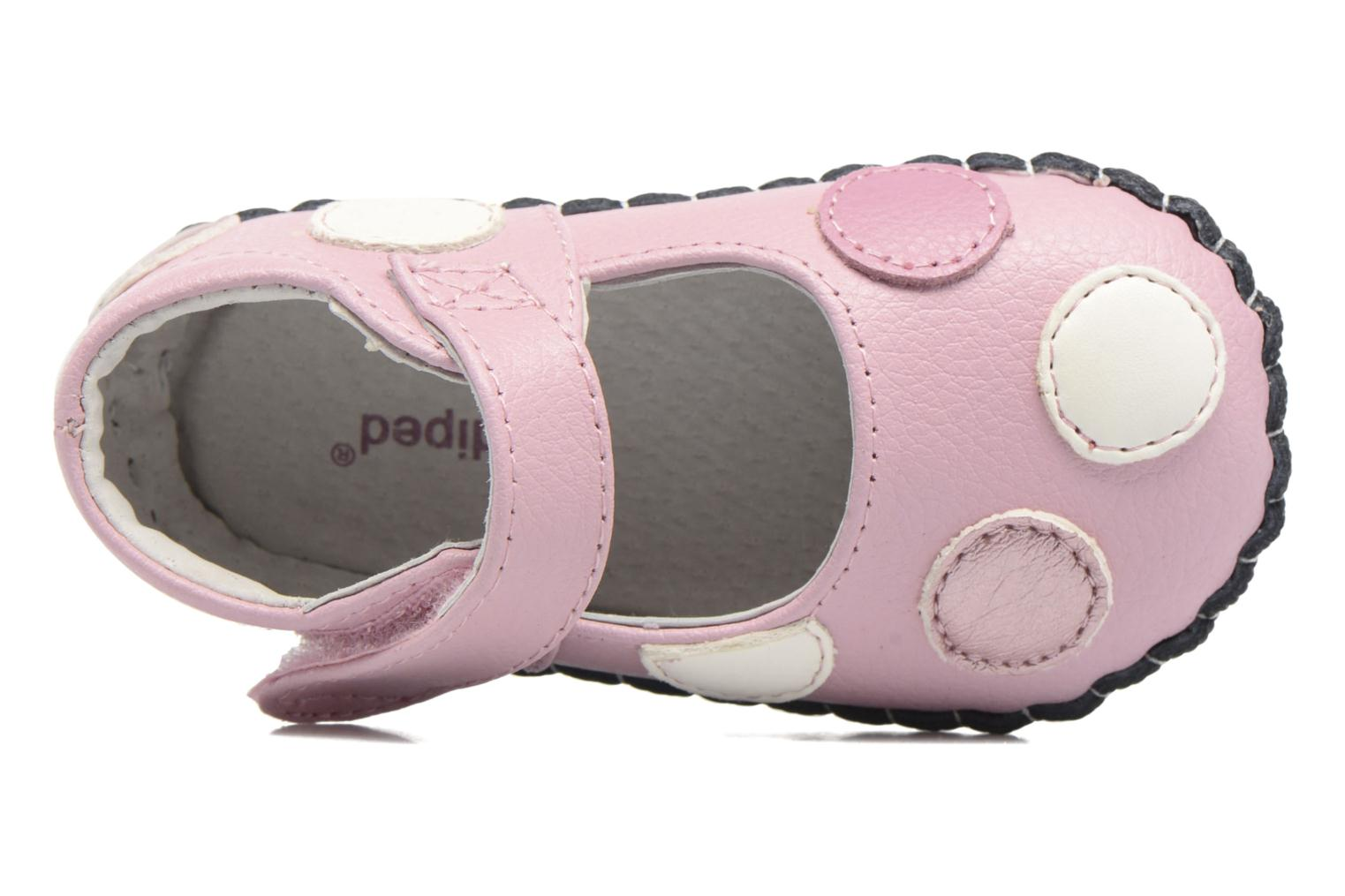 Chaussons Pediped Giselle Rose vue gauche