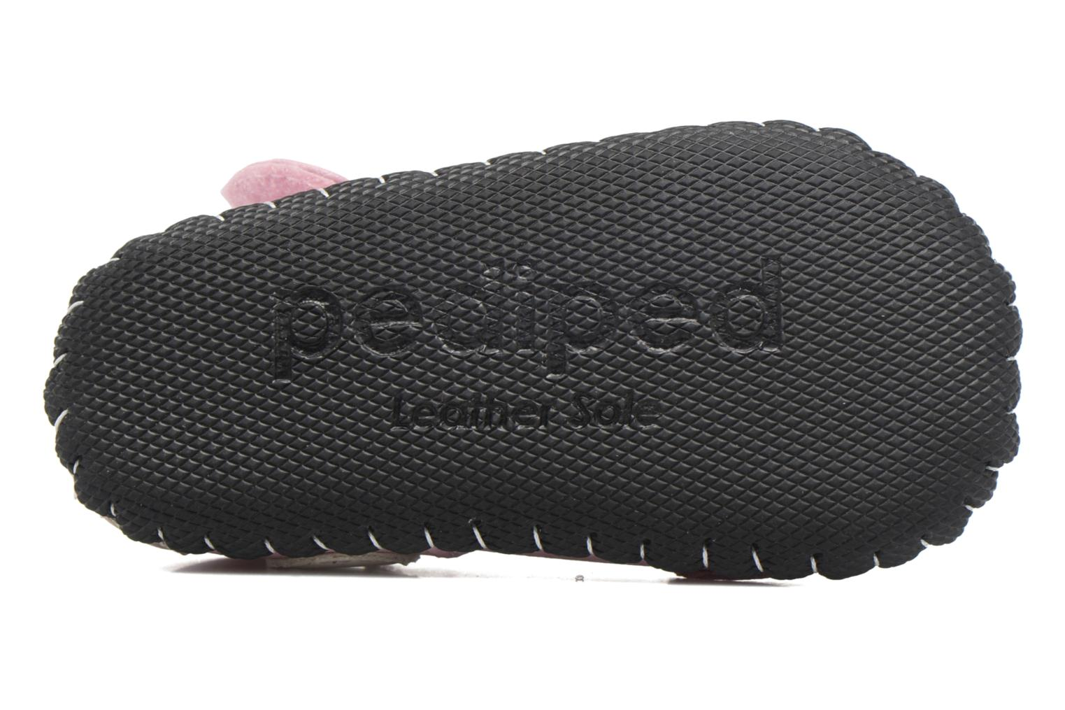 Chaussons Pediped Giselle Rose vue haut