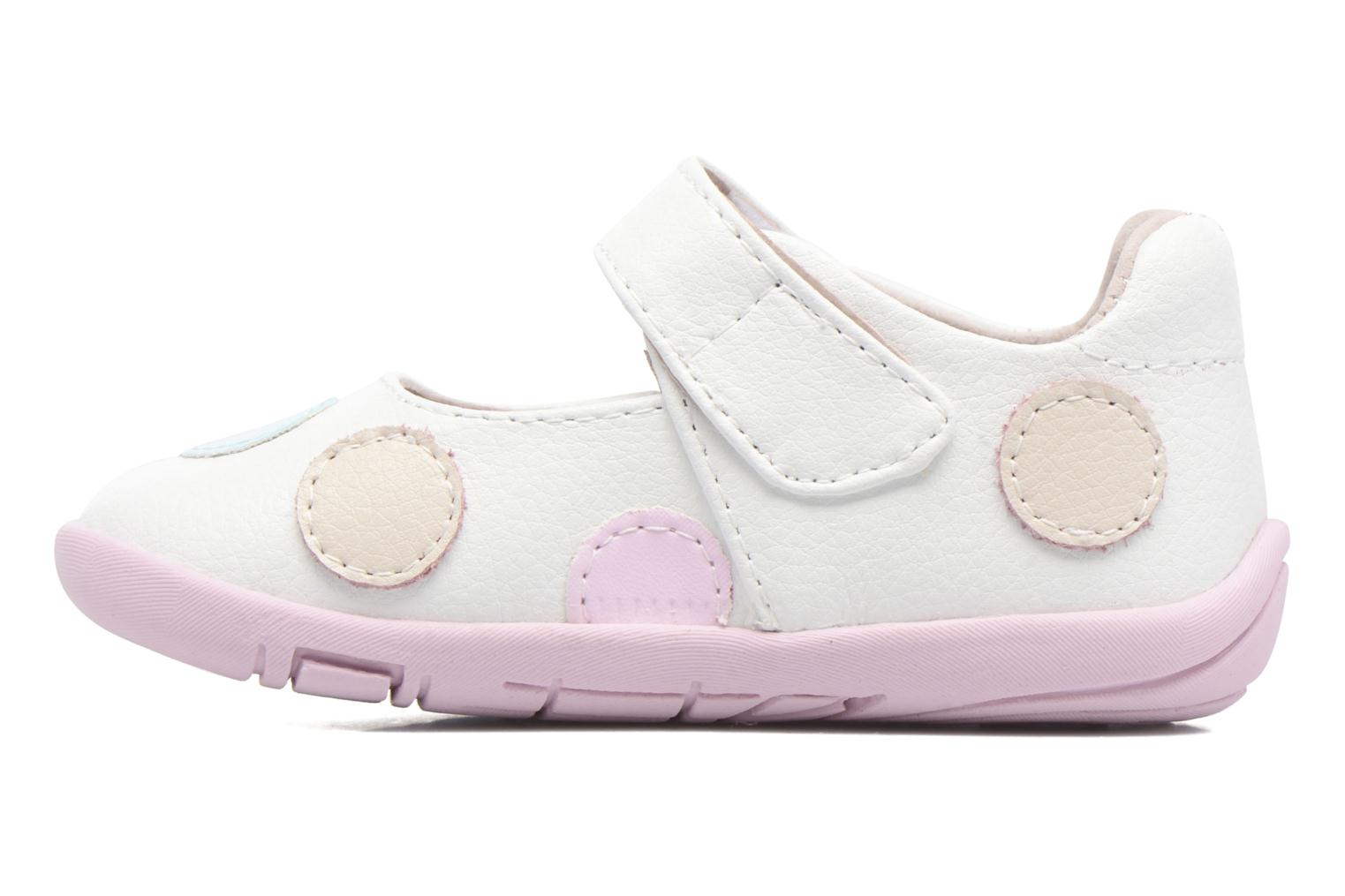Ballerine Pediped Giselle1 Bianco immagine frontale
