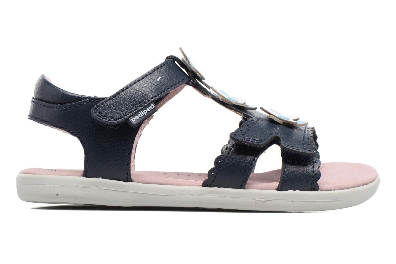 Sandales et nu-pieds Pediped Sidra1 Bleu vue derrière