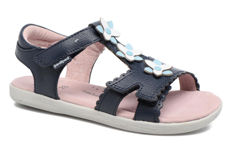 Sandales et nu-pieds Pediped Sidra1 Bleu vue détail/paire