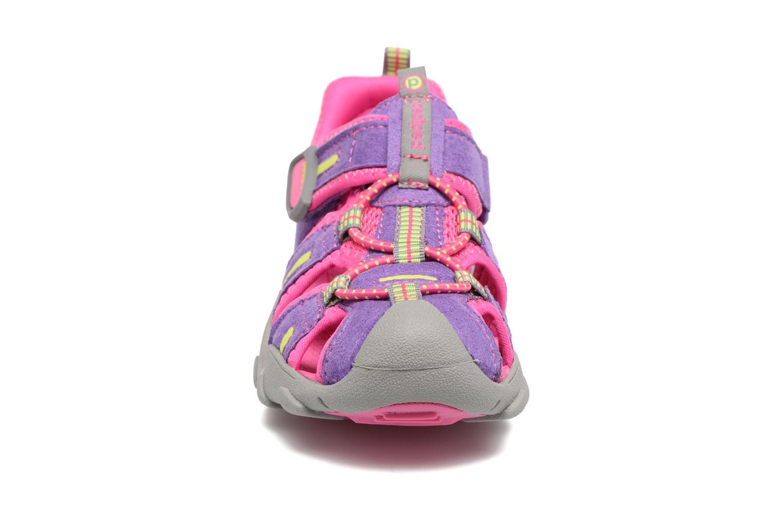 Sandali e scarpe aperte Pediped Canyon Rosa modello indossato