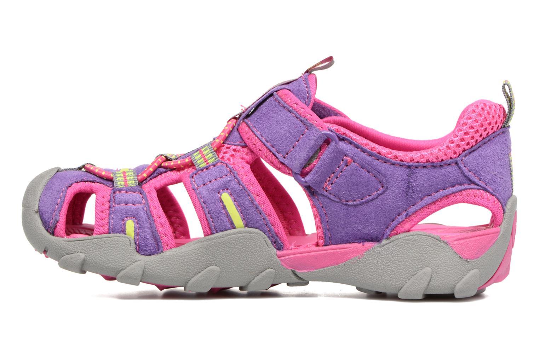Sandali e scarpe aperte Pediped Canyon Rosa immagine frontale