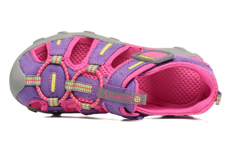 Sandali e scarpe aperte Pediped Canyon Rosa immagine sinistra