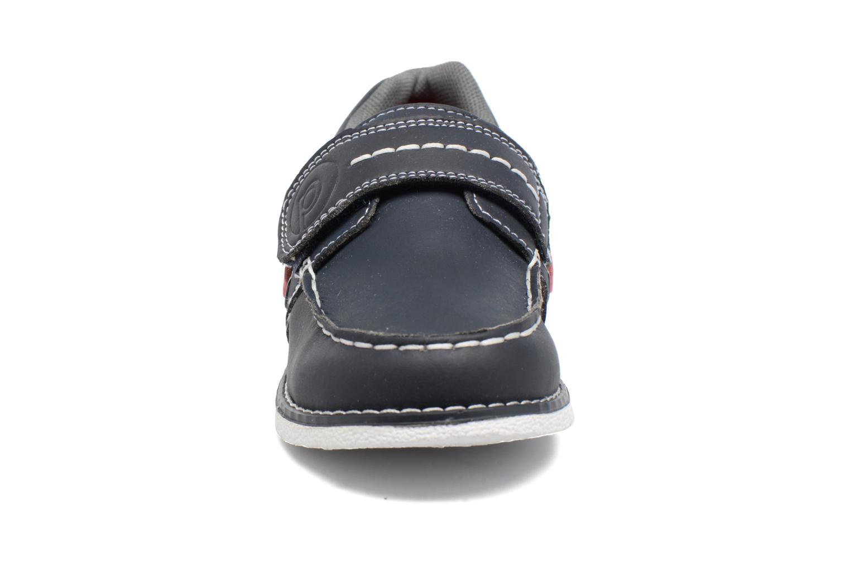 Scarpe con gli strappi Pediped Norm2 Azzurro modello indossato