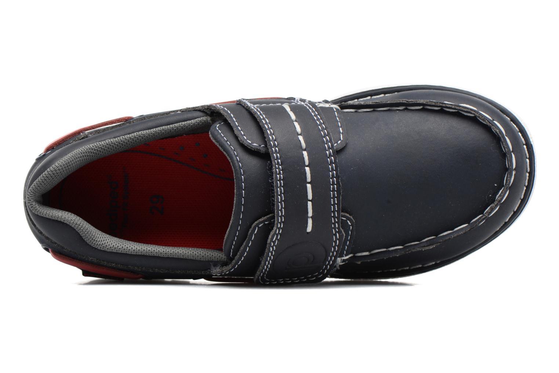 Scarpe con gli strappi Pediped Norm2 Azzurro immagine sinistra