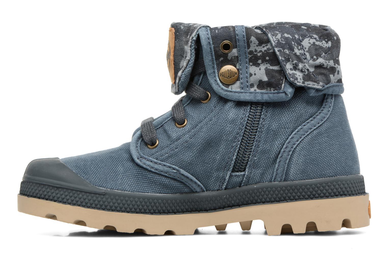 Bottines et boots Palladium Bgy Zip II K Bleu vue face