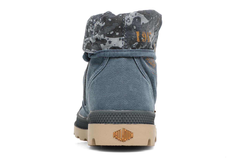 Bottines et boots Palladium Bgy Zip II K Bleu vue droite