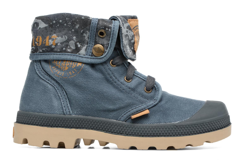 Bottines et boots Palladium Bgy Zip II K Bleu vue derrière