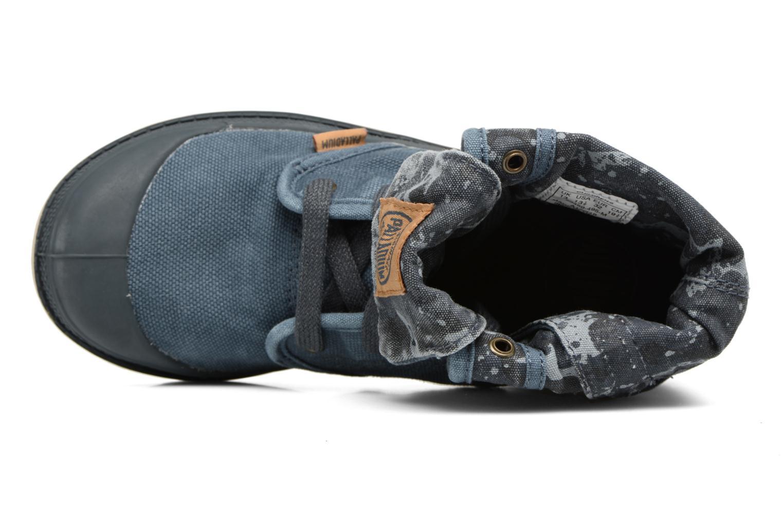 Bottines et boots Palladium Bgy Zip II K Bleu vue gauche